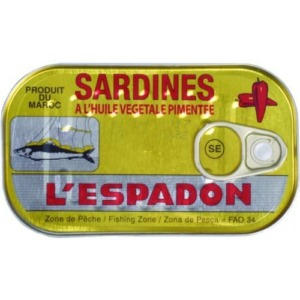 Espadon Sardine PICCANTE